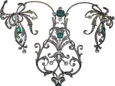 Belle Epoque,tiara and pendant,ca 1900