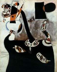 Joan Miró Seated Woman II (Femme assise II), February 1939 Oil on canvas, 162 x 130 cm Peggy Guggenheim Collection, Venice PG 93 © Successió Miró, by SIAE 2008 Kandinsky, Claude Monet, Pablo Picasso, Spanish Painters, Spanish Artists, Joan Miro Paintings, Peggy Guggenheim, Francisco Goya, Happy Art