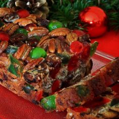 Mary Lou's Famous Homemade Traditional Southern Holiday Fruitcake 3 Pound Loaf ~ Available Year-Roun Best Fruitcake, Georgia Pecans, Candied Pineapple, Cooking Green Beans, Cherry Candy, Thing 1, Great Christmas Gifts, Dark Christmas, Christmas Eve