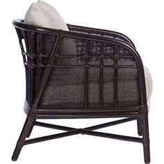 McGuire Furniture: Plaid Lounge Chair: A-101gggggggg