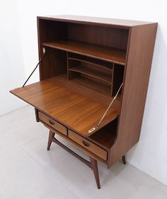 c. 1950s Webe Teak Cabinet | Design: Louis van Teeffelen | Manufactured by WEBE of Netherlands