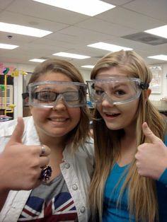 chemistry class:)