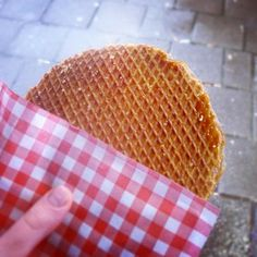 Stroopwafels from street vendors. - You'll find a ton of vendors selling XL stroopwafels, the smell alone is amazing.