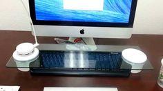 Cyanics i-Bridge iBridge Premium Multi-Function Desk Organizer, Monitor ...