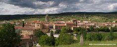Panorámica del monasterio de Santo Domingo de Silos desde el sur  #Pinares #Burgos #Soria #Spain