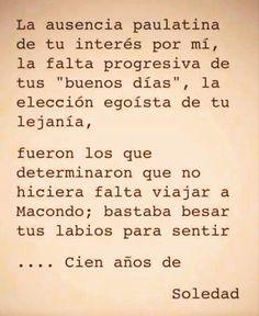 Gabriel Garcia Marquez (Cien años de soledad) Lector@s en extinción