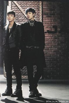 B.A.P Youngjae & Zelo in One Shot