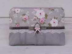 Grey beauty case