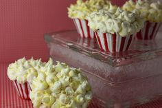 Popcorn Cupcakes (Ihave a weakness for cupcakes)