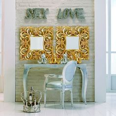 Lustro Italian Baroque Gold od Kare Desing