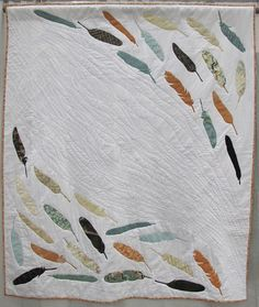 MQG 2014 Quilt of the Month:November. Plumage by Casey York. St. Louis MQG.