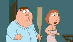 funny family guy gif meg bat