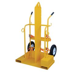 The Welding Cylinder Torch Cart is designed for transporting cylinders and cutting torch. Includes 2 tank compartments with heavy-duty ratchet straps. Brackets are included for holding cutting torch Industrial Storage, Powder Coating, Framing Materials, Storage Boxes, Welding, Fire, Things To Sell, Wheels, Ratchet