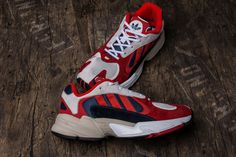the best attitude 9c40c e67b9 Adidas Yung-1 Red Boost18