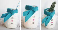 DIY Mason Jar Christmas Gifts That Are Creative And Thoughtful — Our Habitat Mason Jar Christmas Crafts, Merry Christmas, Diy Christmas Gifts, Holiday Crafts, Christmas Candy, Christmas Snowman, Christmas Stuff, Holiday Fun, Holiday Ideas
