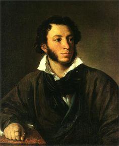 Пушкин. Портрет. Художник В.Тропинин / Portrait of Alexander Pushkin, 1827  Vasily Tropinin