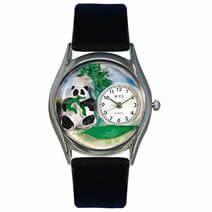 Panda Bear Watch Small Silver Style