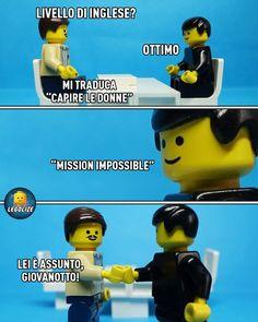 # Fun Italian, - Lego - - New Ideas Memes Humor, Funny Jokes, Funny Images, Funny Photos, Funny Girl Pics, Awkward Moment Quotes, Lego Memes, Disney Love Quotes, Italian Humor