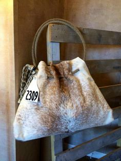 Cowhide Day Bag