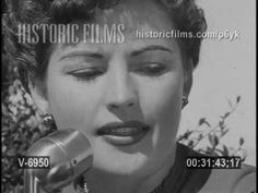"""A 1951 VISIT WITH THE """" OOMHP"""" GIRL ANN SHERIDAN"""
