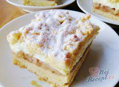 Fantastischer geriebener Apfelkuchen – Fitness Tips for Everyone No Bake Cake, Vanilla Cake, Biscotti, Apple Pie, Sweet Tooth, French Toast, Bakery, Deserts, Food And Drink