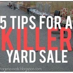 Yard Sale/ Garage Sale