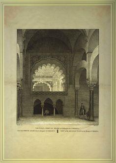 Vista de la Tribuna Arabe en la Mosquita de Cordova (1812)