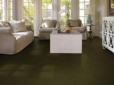 """Carpeting in style """"Turn Table"""" color Eye Contact by Shaw Floors"""
