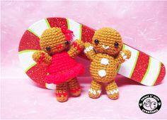 Amigurumi Gingerbread Men