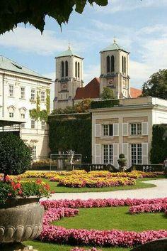 Mirabell Garden, Salzburg, Austria One of My most favourite places in the world, I love Salzburg. Visit Austria, Austria Travel, Places To Travel, Places To See, Places Around The World, Around The Worlds, Wonderful Places, Beautiful Places, Bad Gastein