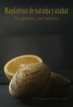 Muffins de naranja y azahar #paleo #glutenfree #dairyfree Orange blossom paleo muffins