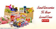 Distance is not a hindrance when expressing your love to your loved ones. Send groceries to your family in the Philippines . only from Bayan Mall Online Shopping! Online Grocery Store, Online Shopping Mall, Filipino, Pop Tarts, Philippines, Make It Simple, Shop Now, Snack Recipes, Packaging
