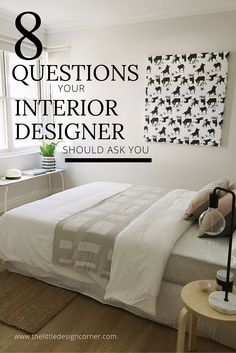 8 Questions Your Interior Designer Should Ask You