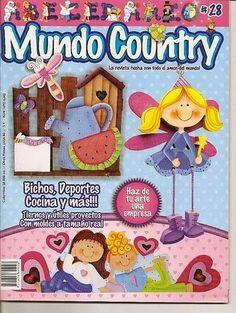 Revista  Mundo Country gratis.  http://revistasgratisdemanualidades.blogspot.com/2014/01/revista-mundo-country-gratis.html