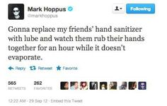 Mark Hoppus funny tweets