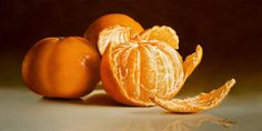 """""""For the Taking,"""" by Mickie Acierno 12 x 24 - oil"""