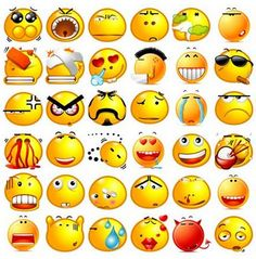 StyleGerms | 35  Stylish Emoticons Designed for facebook and Skype | http://stylegerms.com