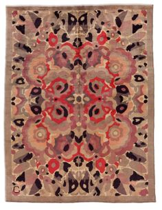 A French Art Deco rug