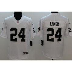 Men s Oakland Raiders  24 Marshawn Lynch Limited White Vapor Untouchable  Jersey 65c56552e