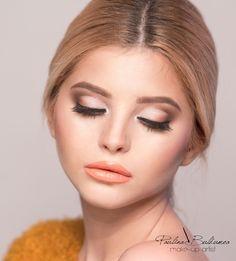 Get the look, glamour make-up! #makeup #glamouremakeup #perfectmakeup #learnmoreaboutmakeup Make-up artisti & trainer Atelier Paris Bucharest Paulina Buldumea