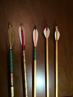 Puta ve menzil okları Ottoman arrows