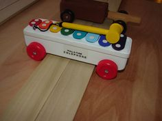 xylophone pinewood derby car