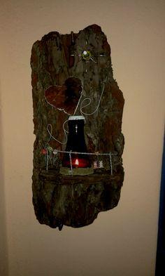 Natural Materials, Driftwood, Light Fixtures, Recycling, Nature, Drift Wood, Recyle, Repurpose, Lamps