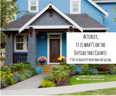 This blog has 9 tips for home owners and home sellers to upgrade or renovate their home prior to putting it on the market for sale.