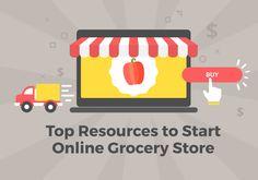Grocery Shopping App, Online Grocery Store, Supermarket Logo, Start Up Business, Script, Walmart, Startups, Learning, United Kingdom