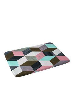 Dash and Ash The Run Away Memory Foam Bath Mat | DENY Designs Home Accessories