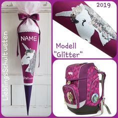 Only left! Very last chance! Sequins unicorn horse sleeping bag sugar bag fabric, horse glitter girl name personalised schooling – Presents for girls School Trends, Unicorn Horse, Presents For Girls, Glitter Girl, Purse Styles, Best Bags, Kids Bags, Diy For Girls, Sleeping Bag