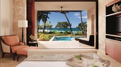 Luxury appointed accommodations featuring private plunge pool at Dorado Beach, a Ritz-Carlton Reserve.