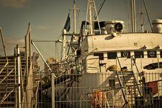 Port of Hamburg - The MS Stubnitz