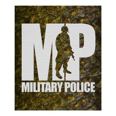 Military Police Posters #zazzle #army #MP